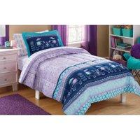 Mainstays Kids Elle Boho Bed in a Bag Complete Bedding Set