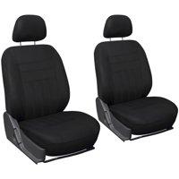Oxgord Flat Cloth Bucket Seat Cover Set for Car/Truck/Van/SUV