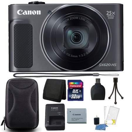 Canon Powershot Sx Series - Canon PowerShot SX620 HS 20.2MP 25X Zoom WIFI Digital Camera with 32GB Accessory Kit