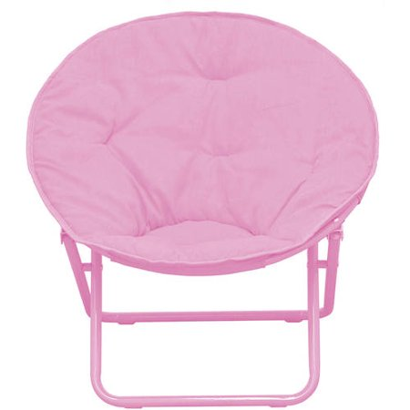 Groovy American Kids Solid Faux Fur Saucer Chair Multiple Colors Ocoug Best Dining Table And Chair Ideas Images Ocougorg
