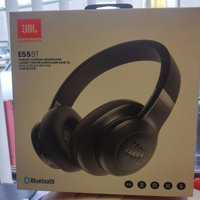 Refurbished JBL E55BT Over-Ear Wireless Headphones Black