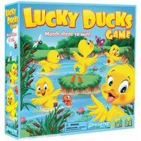 Pressman Toy Lucky Ducks Game for Kids Ages 3 and Up