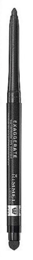Rimmel Exaggerate Waterproof Eye Definer Eyeliner, Blackest Black