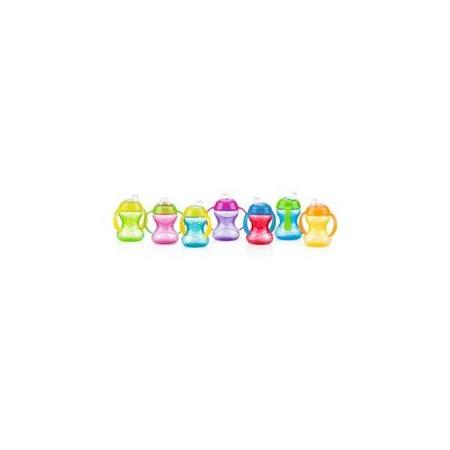 Nuby Clik-It Soft Spout Trainer Sippy Cup - 2 pack (Soft Cup)