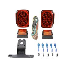 MaxxHaul 70205 12V All LED Submersible Trailer Light Kit
