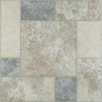 Achim Nexus Marble Blocks 12x12 Self Adhesive Vinyl Floor Tile - 20 Tiles/20 sq. ft.