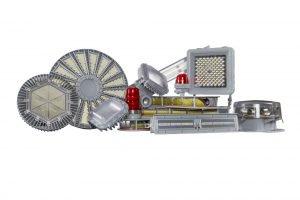 181-8836-09-553, Base For Neon Panel Mount Indicator ,T-2 Midget Flange Base (2