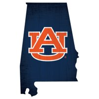 Fan Creations NCAA Team Color Logo State Sign Wall Art