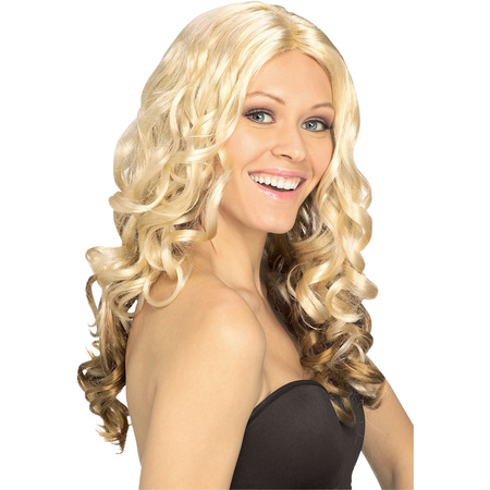 Goldilocks Wig Adult Halloween Costume Accessory](Tangled Rapunzel Wig For Adults)