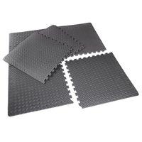 """CAP Barbell High Density 1/2"""" Thick EVA Foam Puzzle Mat, 6 Pieces, 20.78 Sq Ft"""