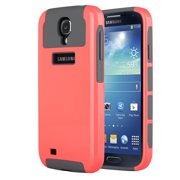 Galaxy S4 Case, S4 Case - ULAK 2in1 Hybrid Rubber Matte Slim Hard Case Cover