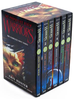 Warriors Box Set: Volumes 1 to 6: The Complete First Series -