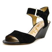 114bc2a16 Sam Edelman Shirley Women Open Toe Suede Wedge Sandal