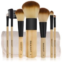 SHANY Bamboo Makeup Brush Set (7 Count)
