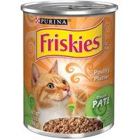 Friskies Classic Pate Poultry Platter Wet Cat Food, 13 oz. Cans (12 Pack)