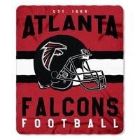 "NFL Atlanta Falcons ""Singular"" 50"" x 60"" Fleece Throw"