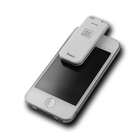 Voice Activated Mobile Phone Call Recorder 4GB - Smallest Smartphone Conversation Recording Device - Clear Audio - Rechargeable Personal Dictaphone - Best for iPhone/Android - Free Security eBook