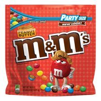 M&M's Peanut Butter Chocolate Candy Party Size, 38 Oz.