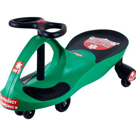 Ride on Toy, Ambulance Car Ride on Wiggle Car by Lil Rider Ride on Toys for Boys and Girls, 2 Year Old And Up for $<!---->