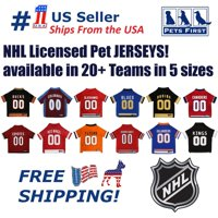 Pets First NHL Anaheim Ducks Mesh Jersey for Dogs and Cats - Licensed