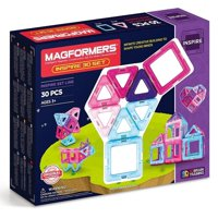 Magformers Inspire 30 piece Magnetic Tiles Building Set