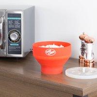 Chef Buddy Microwave Popcorn Popper Bowl, No Oil Necessary