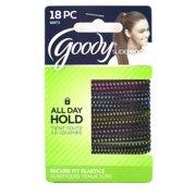 Goody Slideproof Secure Fit Hair Elastics - 18 Pcs. 0df33082161