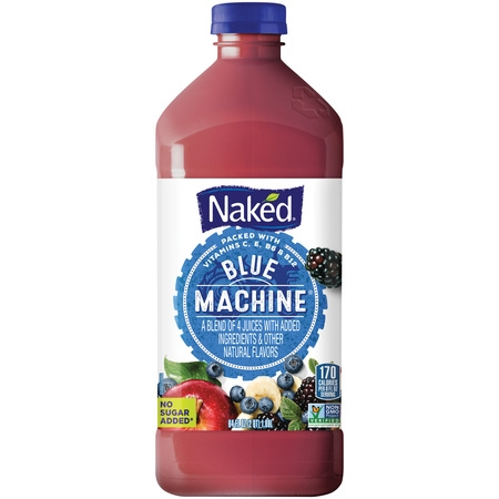 Naked Juice Boosted Smoothie, Green Machine, 10 oz Bottles