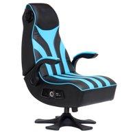 X Rocker CXR1 2.1 Wireless Gaming Chair Rocker, Black/Blue