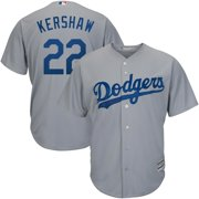 2a9a18c2a54 Clayton Kershaw Los Angeles Dodgers Majestic Road Official Cool Base Player  Replica Jersey - Gray