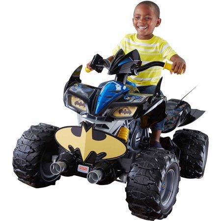Power Wheels DC Super Friends Batman Kawasaki Ride-On ATV