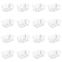 Sterilite, Storage Basket, White, Case of 16