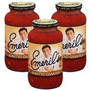(3 Pack) Emeril's® Roasted Gaaahlic Pasta Sauce 25 oz. Jar