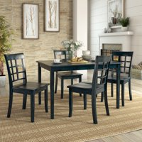 Lexington 5-Piece Dining Set with 4 Window Back Chairs