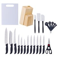 Mainstays Kitchen Cutlery & Gadget Set, 23 Piece