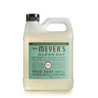 (2 Pack) Mrs. Meyer Liquid Hand Soap Refill, Basil, 33 fl oz