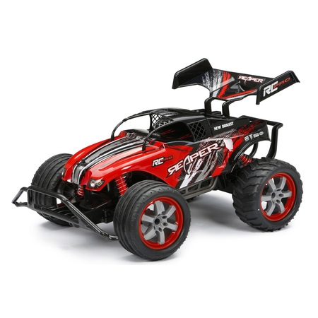 Green Rc Models (New Bright 1:10 Radio Control Pro Reaper - Red )