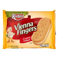Keebler Vienna Fingers Creme Filled Sandwich Cookies, 14.2 Oz.
