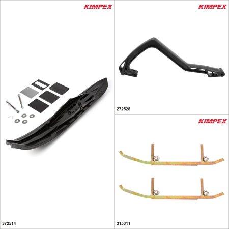 Kimpex - Arrow Ski Kit - Black, Ski-Doo Grand Touring 600R 2019 Black  #KK00001989_533