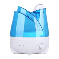 KEDSUM 2L Ultrasonic Water Cool Mist Maker Air Humidifier with Essential Oil Tray