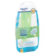 Equate 5 Blade Disposable Razors for Women, 3 count