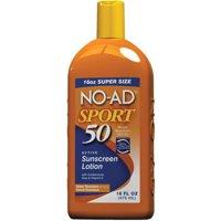 No-Ad Sport Sunscreen Lotion SPF 50, 16.0 FL OZ