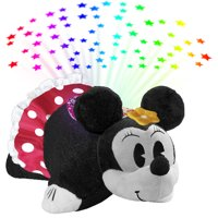 Pillow Pets Disney Retro Minnie Mouse Sleeptime Lites - Retro Minnie Mouse Plush Night Light