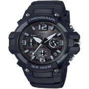 Casio Men's Black Chronograph Watch, Resin Strap, MCW100H-1A3V