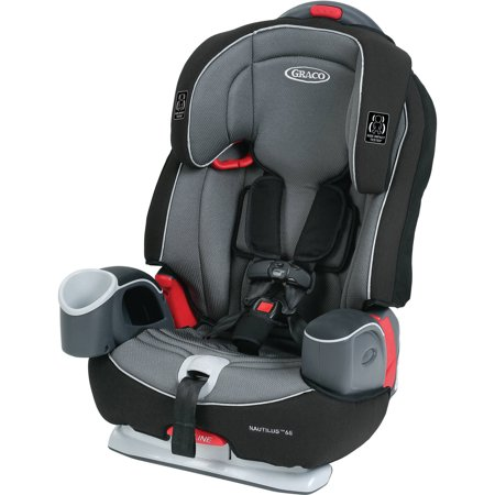 Car Seat Blush (Graco Nautilus 65 3-in-1 Harness Booster Car Seat, Bravo)