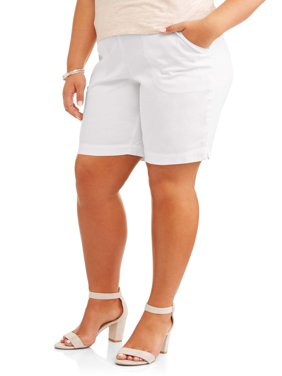 Women's Plus-Size 2 Pocket Pull-On Shorts