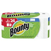 Bounty Select-A-Size Paper Towels, White, 8 Triples = 24 Regular Rolls