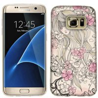 Mundaze Pink Flower Dream Phone Case Cover for Samsung Galaxy S7 edge