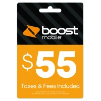 Boost Mobile $55 Re-Boost Card (Email Delivery)