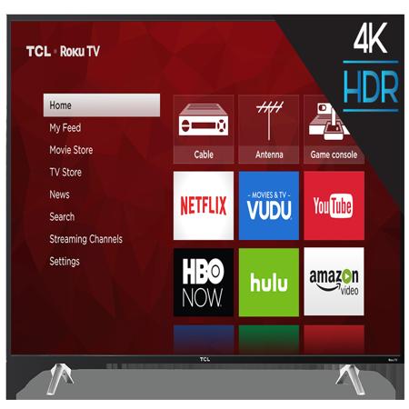"TCL 55"" Class 4K Ultra HD (2160P) Roku Smart LED TV (55S405)"